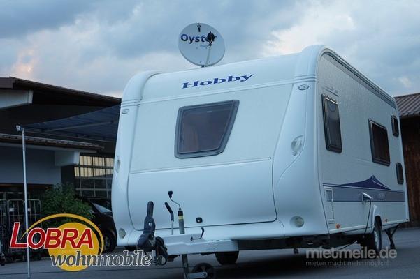 hobby wohnwagen 540 kmfe de luxe familienwohnwagen mit. Black Bedroom Furniture Sets. Home Design Ideas
