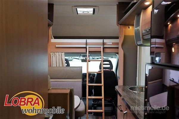 Etagenbett Wohnmobil : Wohnmobil knaus sky traveller dkg alkoven mit etagenbetten