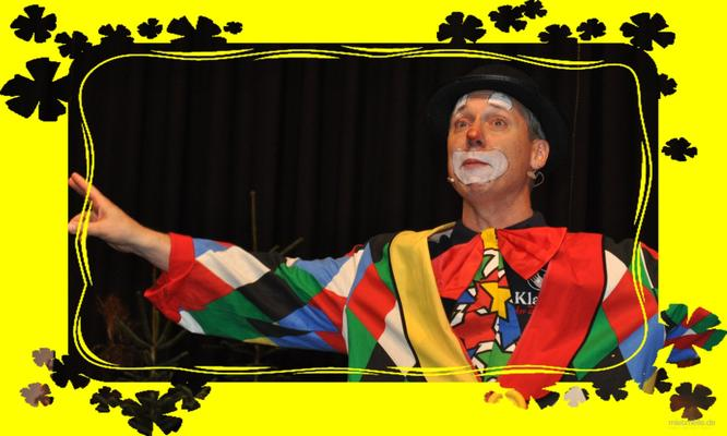 Clown mieten & vermieten - KlaRo der Clown mit Zauberei und Ballontiere  - Kinderzauberer - Zauberkünstler - Ballonmodellieren - Schminken in Kornwestheim