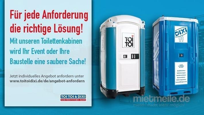 Toilettenwagen mieten & vermieten - Toilettenwagen, WC-Trailer, Miettoilette, mobile Toilette, Hygiene in Mülheim an der Ruhr