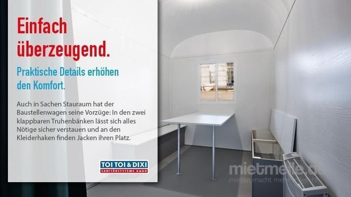 Büro-Container mieten & vermieten - Bauwagen, WC-Trailer, Miettoilette, mobile Toilette, Hygiene in Mülheim an der Ruhr