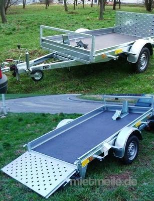 1er motorradanh nger kippbar 1000 kg gebremst 100 km h. Black Bedroom Furniture Sets. Home Design Ideas