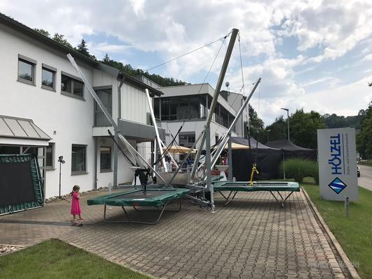 Bungee mieten & vermieten - Bungeetrampolin, Bungytrampolin, Bungee Trampolin mieten leihen Stuttgart münchen in Göppingen