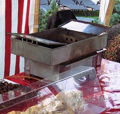 Grill & Ofen mieten & vermieten - Maronirösterei klein inkl. 19% MwSt. in Münnerstadt