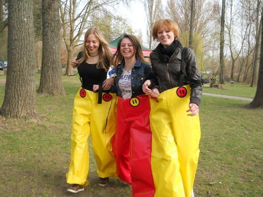 Teambuilding mieten & vermieten - Drillingshose in Euerbach