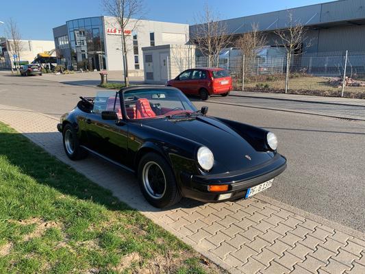 Oldtimer mieten & vermieten - Porsche 911 Carrera Cabrio AKTION 10% Rabatt in Pforzheim