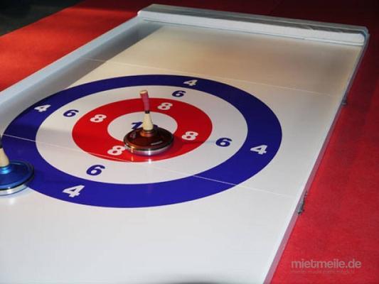 Curlingbahn mieten & vermieten - Eisstockschießen  -  XXL-Fun-Curling 8x2m  -  Eistockbahn 12x2m ***Teambuilding – Wettbewerb – Teamevent*** in Dresden