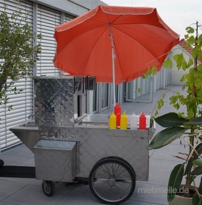 Grill & Ofen mieten & vermieten - Hot Dog Wagen inkl. 19% MwSt. in Münnerstadt