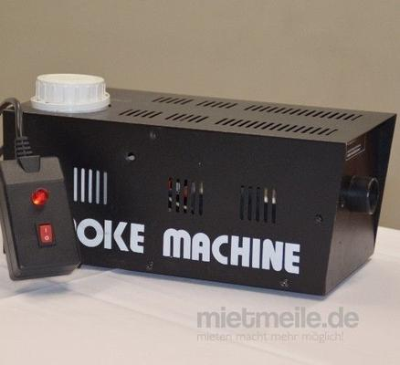 Nebelmaschine mieten & vermieten - INKL.VERSAND Kleine Nebelmaschine inkl.Versand,Rückholung und 19%MwSt. in Münnerstadt