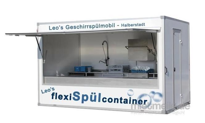 Spülanlage mieten & vermieten - Spülcontainer Geschirrspülmobil Spülmobil Spülanhänger Spülküche in Halberstadt