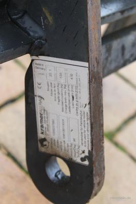 Radlader mieten & vermieten - Radlader Kompaktlader Kramer 350 Allrad in Gröningen