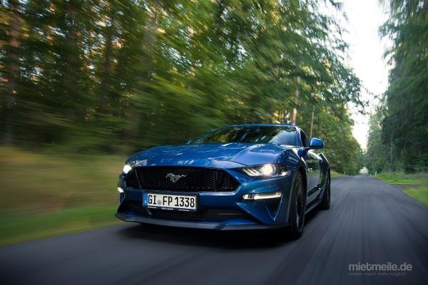 Sportwagen mieten & vermieten - Ford Mustang GT 2019 selbst fahren und erleben in Wettenberg
