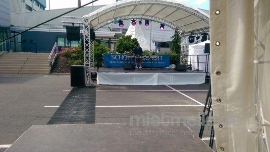 Bühne mieten & vermieten - Rundbogenbühne (verschiedene Größen) in Eibelstadt