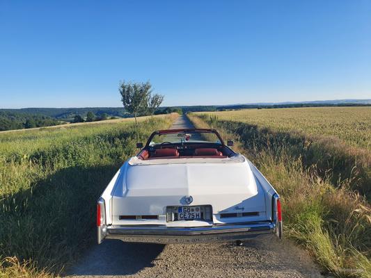 Oldtimer mieten & vermieten - Cadillac Eldorado Cabrio zu vermieten, Hochzeit, Ausfahrt, Selbstfahrer oder Chauffeur. in Göttingen