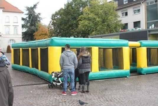 Hüpfburg mieten & vermieten - Labyrinth in Eibelstadt