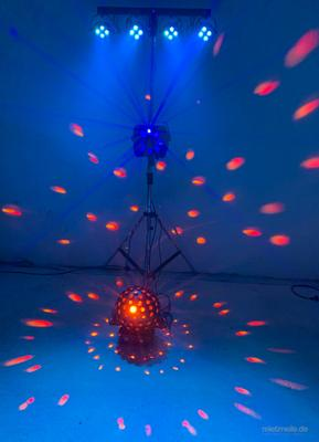 Nebelmaschine mieten & vermieten - Lichtanlage / LED Lichtanlage / Licht Komplettsystem / Partybeleuchtung / Tanzlicht in Langenhagen