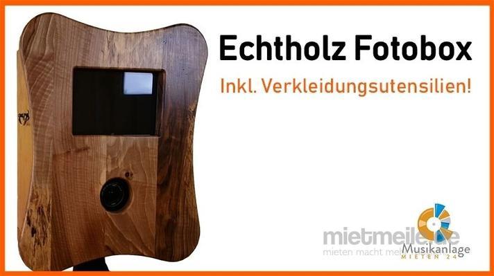 Fotobox mieten & vermieten - Fotobox inkl. Verkleidungen mieten in Königsbrunn
