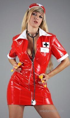 Stripperin mieten & vermieten - Krankenschwester Stripshow zum Geburtstag buchen in Berlin