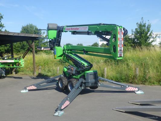 Teleskopbühnen mieten & vermieten - selbsfahrende Gelenk-Teleskoparbeitsbühne in Dieburg