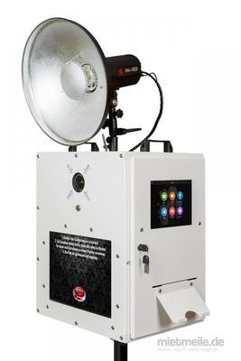 Fotobox mieten & vermieten - Profi Fotobox inkl. Ausdruck und auf Wunsch mit Greenscreen Fotoautomat in Oberasbach
