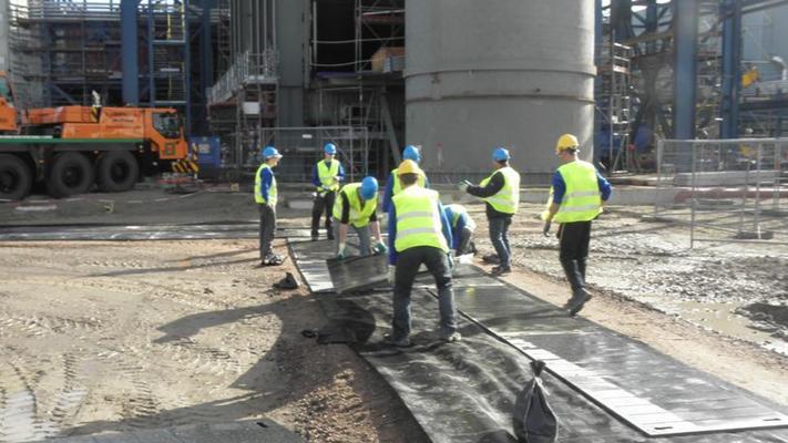 Arbeitsschutzausrüstung mieten & vermieten - Baumaschinen-Fahrplatten in