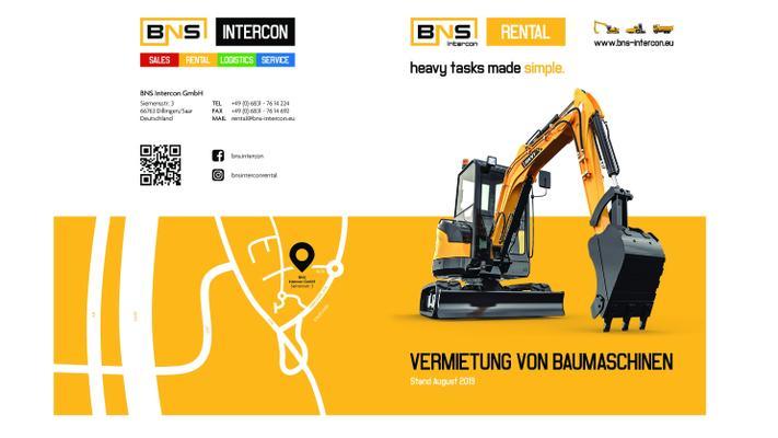 Minibagger mieten & vermieten - Baumaschinen Vermietung /Bagger Mieten/mieten/leihen /Bagger  in Dillingen