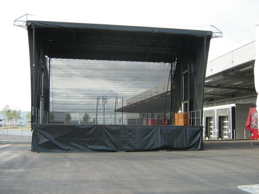 """Bühne mieten & vermieten - Mobile Show - Bühne 80m²-140m²  - Bühnensystem """"Smart Stage""""  für Stadtfest, Kundgebung, Präsentation, Roadshow, Events, Festivals, Konzerte in Nürnberg"""