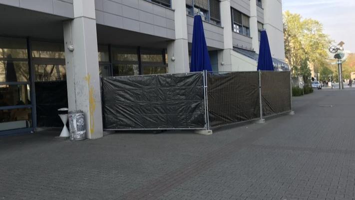 Bauzaun mieten & vermieten - Sichtschutzplane / Bauzaunplane / Sichtschutz in Mainz
