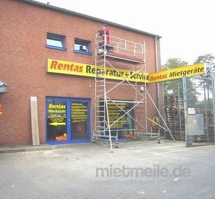 Gerüst mieten & vermieten - Rollgerüst / Gerüst bis 6 m Arbeitshöhe / 4 m Standhöhe in Bad Nenndorf