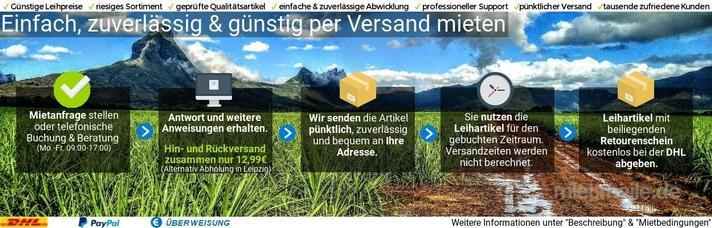 Netzwerk & Router mieten & vermieten - AVM FRITZ WLAN Repeater Verstärker in Schkeuditz