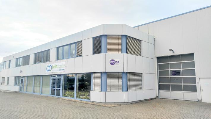 Arbeitsschutzausrüstung mieten & vermieten - Profi Edelstahl Desinfektionsstation Desinfektionsständer in Schkeuditz