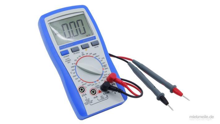 Elektronikzubehör mieten & vermieten - Digital Multimeter Voltmeter Amperemeter in Schkeuditz
