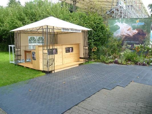 Tanzboden mieten & vermieten - Messeboden / Rasenschutzboden / Zeltboden / Partyzelt / Pavillon / Hüpfburg in Sankt Ingbert