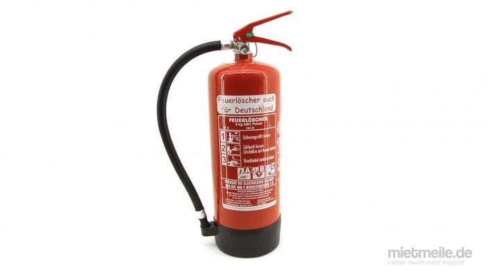 Arbeitsschutzausrüstung mieten & vermieten - Pulver-Feuerlöscher ABC-Pulverlöscher 6kg in Schkeuditz