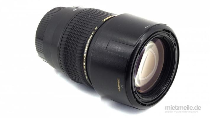Objektive mieten & vermieten - Tele-Objektiv Tamron AF 70-300mm Canon EF Makro in Schkeuditz