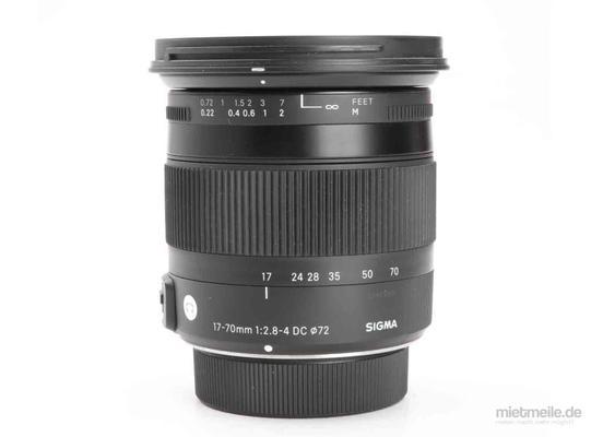 Fotokamera mieten & vermieten - Nikon D7200 Kamera mit Sigma 18-200mm 3.5-5.6 Objektiv in Malgersdorf