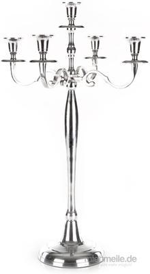 Tischdekoration mieten & vermieten - Kerzenständer 40cm , 60cm , 78cm Höhe in Silber - Gold - Weiß - Schwarz - 1 Armig - 3 Armig - 5 Armin in Wismar