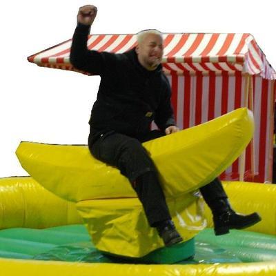 Bullriding mieten & vermieten - Bananenrodeo - Bullriding Variante inkl. 19% MwSt. in Münnerstadt