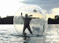 Wasserspiele mieten & vermieten - Water Walking Ball / zum über Wasser laufen  in Hannover