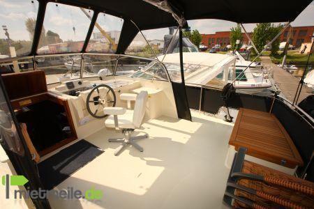 """Motoryacht mieten & vermieten - Jetten 37 AC """"La Onda""""  Boot / Motorboot / Yacht in Werder (Havel)"""