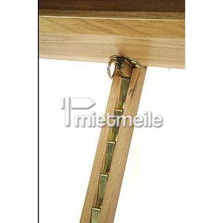 Präsentationsmöbel mieten & vermieten - Meisterstaffelei aus Holz Holzstaffelei Staffelei in Berlin
