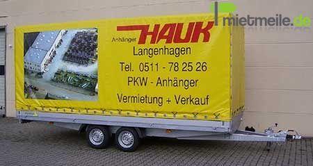 Autoanhänger mieten & vermieten - Pkw-Anhänger in Langenhagen