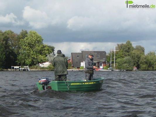 Motorboote mieten & vermieten - Pioner 13 mit Trailer und fs-freiem Motor in Deuerling