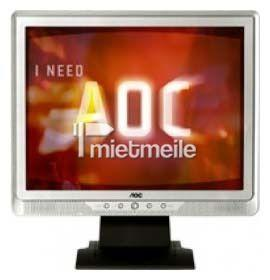 LCD Monitore mieten & vermieten - AOC 19 Zoll Monitor Display Screen Bildschirm in Berlin