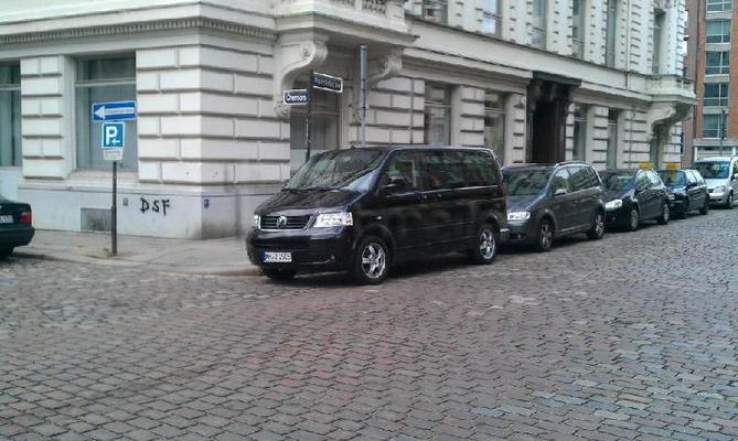 Auto mieten & vermieten - VW Bus T5 Multivan Business Comfortline in Hamburg