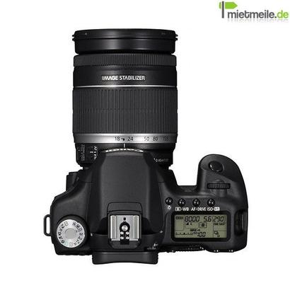 Fotokamera mieten & vermieten - Canon EOS50D + Objektiv 17-85mm + 8 GB Speicher + 2. Akku in Langenhagen