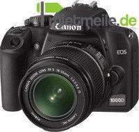Fotokamera mieten & vermieten - Canon EOS 1000D mit Objektiv 18-55 mm 2. Akku, 2 GB Speicherkarte und Transporttasche in Langenhagen