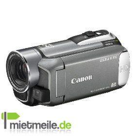 Videokamera mieten & vermieten - Canon Legria HF R16 HD Camcorder + 2. Akku + 12 GB SDHC in Langenhagen