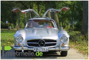 Oldtimer mieten & vermieten - Mercedes-Benz 300SL - der Traum-Oldtimer schlechthin in Hannover