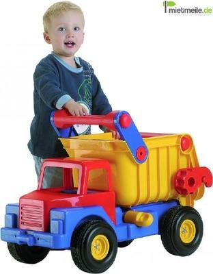 Spielmobil mieten & vermieten - XXL-Kinderspielzeuglaster (Kipper) in Chemnitz